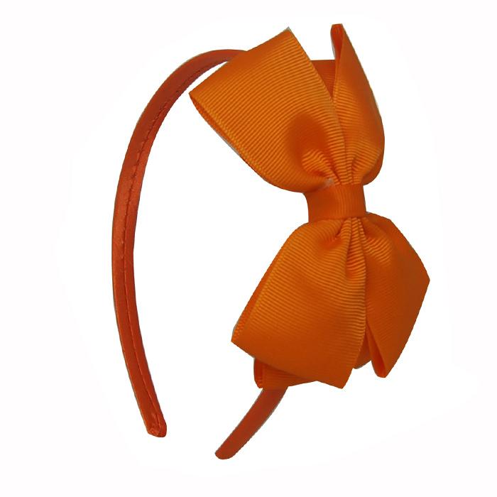 Little Lady hairband - Binky orange hairband b9ea3a39759