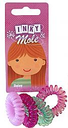 Daisy spiral hair toggles
