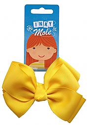 Phoebe's Bow Hair Elastic - Yellow